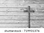 white old christian religion... | Shutterstock . vector #719931376