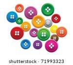 buttons | Shutterstock .eps vector #71993323