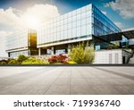 large modern office building | Shutterstock . vector #719936740