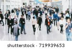 anonymous blurred people... | Shutterstock . vector #719939653