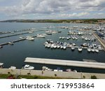 aerial view to adriatic sea | Shutterstock . vector #719953864
