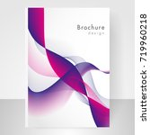 business brochure cover... | Shutterstock .eps vector #719960218