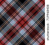 seamless tartan plaid pattern.... | Shutterstock .eps vector #719968408