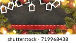 christmas holiday background    Shutterstock . vector #719968438