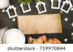 christmas and new year s...   Shutterstock . vector #719970844