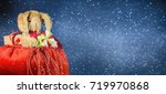 christmas and new year holidays ...   Shutterstock . vector #719970868