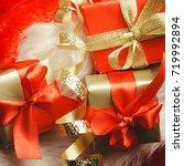 holidays  present  christmas...   Shutterstock . vector #719992894