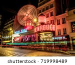 paris  france   aug 31  2017 ... | Shutterstock . vector #719998489