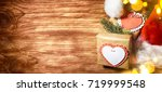 christmas holiday background    Shutterstock . vector #719999548