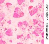 grunge pink texture. seamless... | Shutterstock .eps vector #720017650