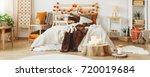 Autumn Style In Cozy Bedroom...
