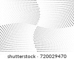 abstract halftone wave dotted... | Shutterstock .eps vector #720029470