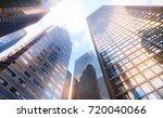 3d illustration. conceptual... | Shutterstock . vector #720040066