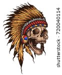 Vector Illustration Of Native...