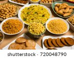 stock photo of  diwali food or... | Shutterstock . vector #720048790