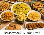 stock photo of  diwali food or... | Shutterstock . vector #720048790