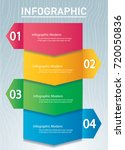 arrow infographic concept with... | Shutterstock .eps vector #720050836