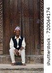 patan  nepal   circa september... | Shutterstock . vector #720064174