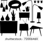 furniture | Shutterstock .eps vector #72006460