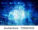 2d rendering stock market...   Shutterstock . vector #720065410