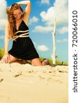 summer holiday leisure concept. ...   Shutterstock . vector #720066010