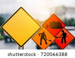 set of under construction and... | Shutterstock . vector #720066388