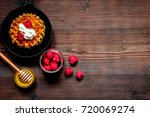 cooking holiday breakfast with...   Shutterstock . vector #720069274