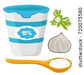 vector illustration of sour... | Shutterstock .eps vector #720075580