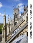 Buttresses Of York Minster...