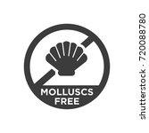 molluscs free icon. vector... | Shutterstock .eps vector #720088780