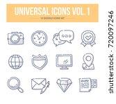 doodle vector universal generic ... | Shutterstock .eps vector #720097246