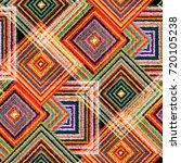 seamless pattern patchwork... | Shutterstock . vector #720105238