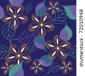 floral seamless pattern | Shutterstock .eps vector #72010948