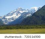 Chigmit Mountains at Lake Clark National Park in Alaska