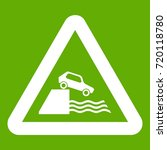 riverbank traffic sign icon... | Shutterstock .eps vector #720118780
