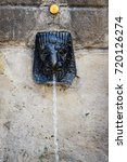 old city style drinking water...   Shutterstock . vector #720126274