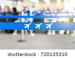 airport waiting area  lobby or... | Shutterstock . vector #720135310