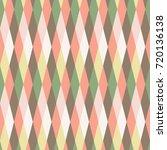 unusual seamless diamond texture   Shutterstock .eps vector #720136138