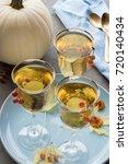 sparkling apple beverage   Shutterstock . vector #720140434