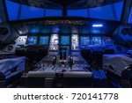a view of the cockpit of a... | Shutterstock . vector #720141778