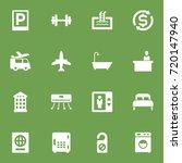 set of 16 travel icons set... | Shutterstock .eps vector #720147940