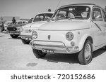 vintage classic italian car... | Shutterstock . vector #720152686