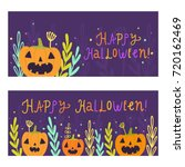 two banners templates.... | Shutterstock .eps vector #720162469