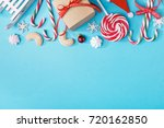from above view of creative... | Shutterstock . vector #720162850