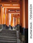inari shrine | Shutterstock . vector #720163324