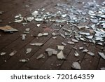 pieces of shattered glass or... | Shutterstock . vector #720164359