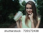 portrait of smiling young and...   Shutterstock . vector #720172438