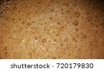 cold drink foam or froth or...   Shutterstock . vector #720179830
