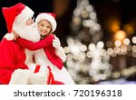 holidays and people concept  ... | Shutterstock . vector #720196318