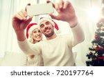 christmas  holidays  technology ... | Shutterstock . vector #720197764
